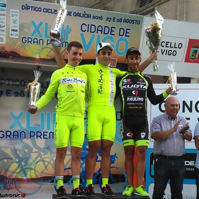El guardés Aser Estévez domina el Gran Premio Cidade de Vigo