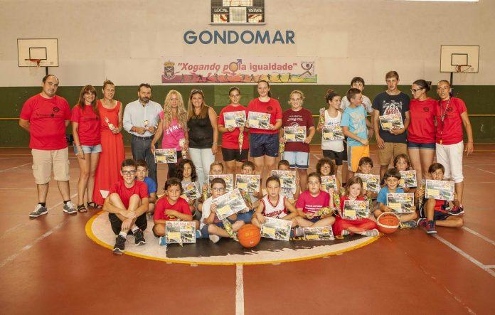 Clausurado el campus de baloncesto del CB Nigrán que se celebró en Gondomar