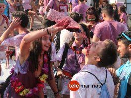 Miles de personas invaden el monte Trega de A Guarda