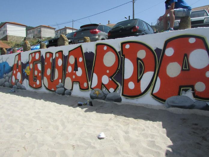 Finaliza el curso de graffiti celebrado en A Guarda