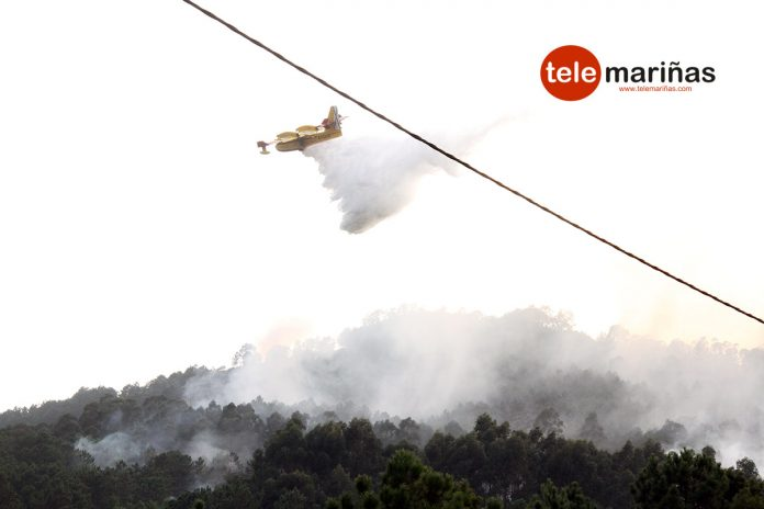 Controlado el incendio forestal que afectó al Monte Aloia