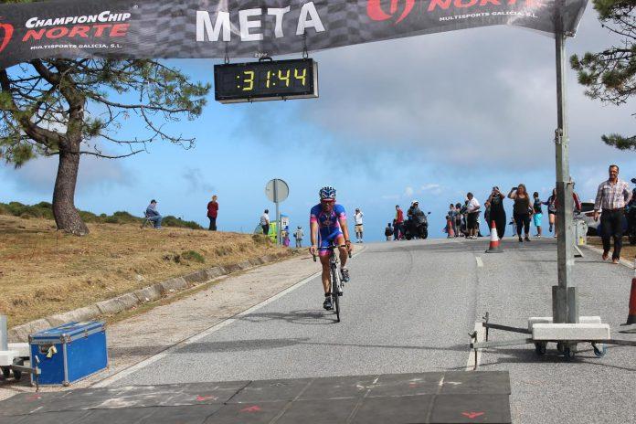Un total de 198 ciclistas se dieron cita en la VIII Subida Cicloturista A Groba en Baiona