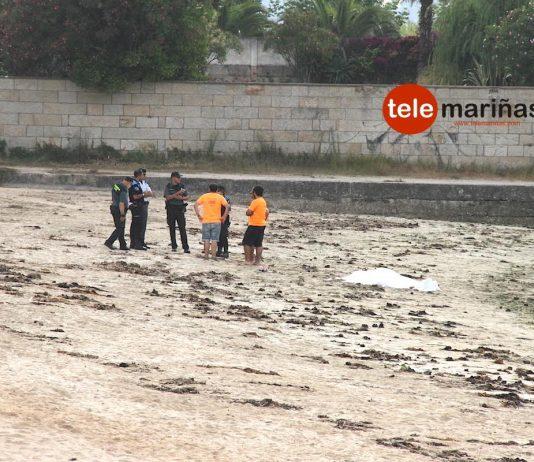 Muere un octogenario de Gondomar en playa América