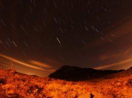 Noche de observación de perseidas en Nigrán