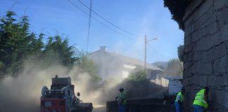 Nigrán remata su primer plan de asfaltados en el Camiño da Fonte