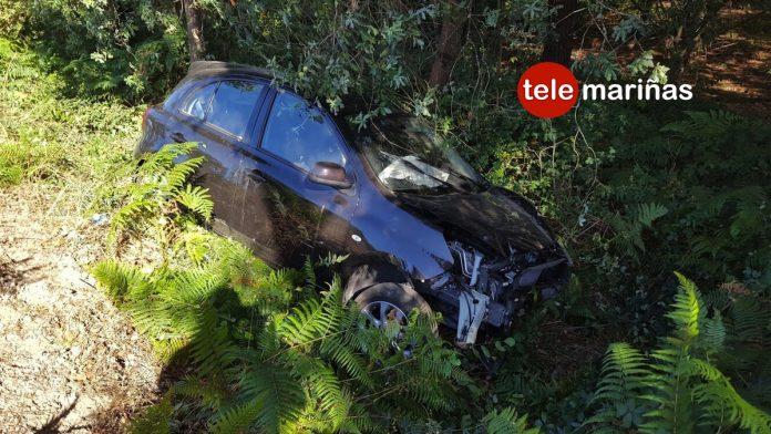 Dos accidentes de tráfico dejan dos personas heridas en Tomiño
