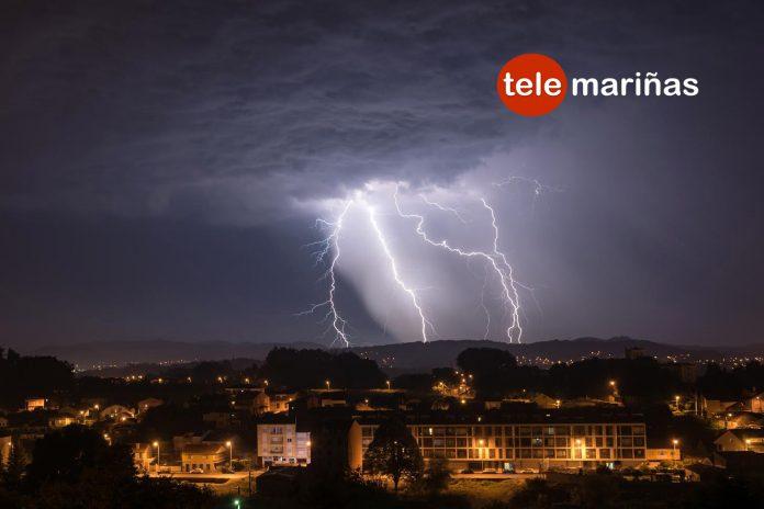 Así se ve una tormenta eléctrica desde Randufe