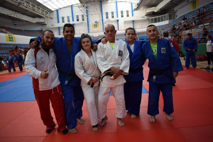 Buen balance para el Club Judo Tudense en Salamanca