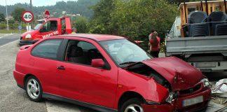 Una colisión en Vincios entre dos coches se salda sin heridos