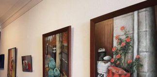 La artista de A Guarda, Gemma Marqués, presenta su primera su primera exposición individual en Oporto
