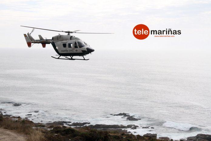 La Guardia Civil busca por tierra, mar y aire, al vigués desaparecido en A Guarda