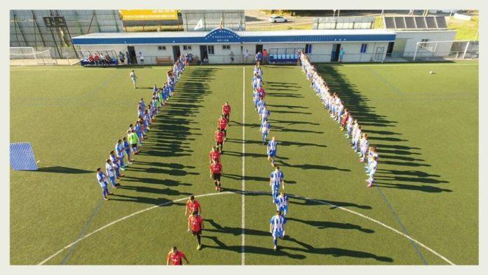 Emotivo homenaje y el Goián gana en la tanda de penaltis al Tomiño