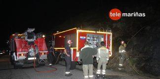 Nuevo incendio forestal en Cabo Silleiro