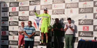 Jesús Nanclares, segundo en la etapa del Teide en la Vuelta a Tenerife