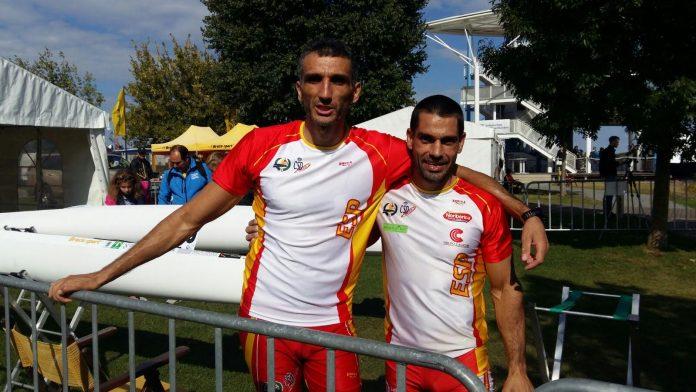 Óscar Graña y Ramón Ferro plata en C-2 en el Mundial, Iván Alonso y Diego Piña quintos en K-2