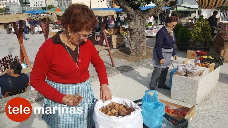 Cientos de romeros acuden a San Cosme y San Damián en Baiona