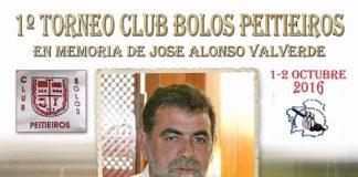 Peitieiros acogerá un torneo de bolos celta en memoria de Jose Alonso Valverde