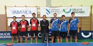 El AD Vincios BMC debutó en la liga nacional de tenis de mesa con una derrota