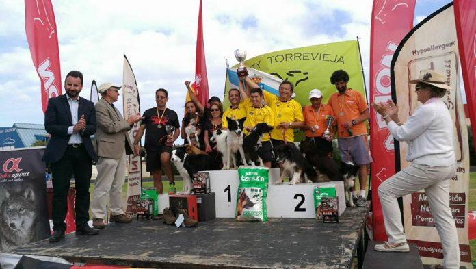 El Club Agility Wecan de Nigrán se proclamó campeón de España en Alicante