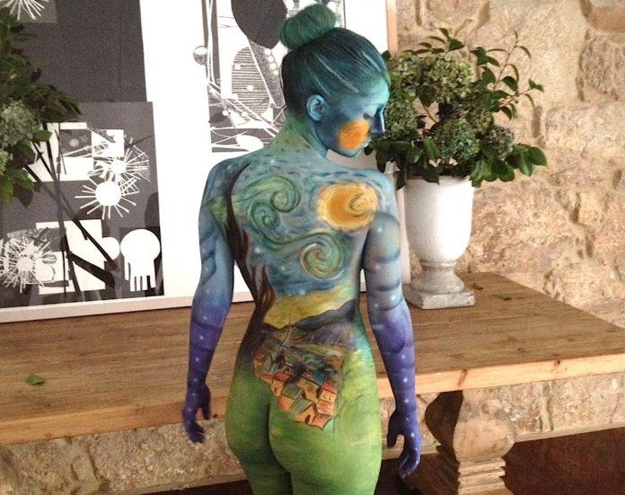 Llega a Vigo la I edición del concurso internacional de Bodypaiting