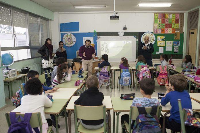 Campaña de reciclaje en los colegios de Gondomar