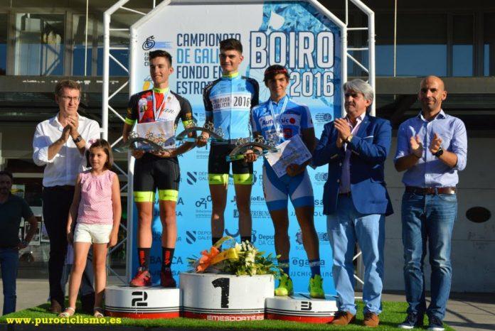 El Club Ciclista Rías Baixas ficha al campeón de Galicia Junior, Daniel Rodríguez