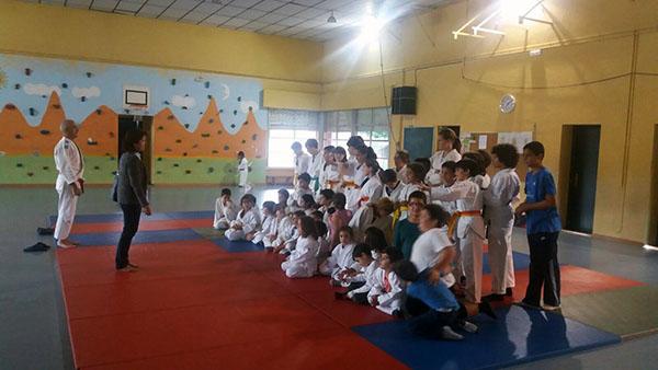 Más de 600 niños y niñas de la provincia participan en las 'Deporte Escolas' de judo