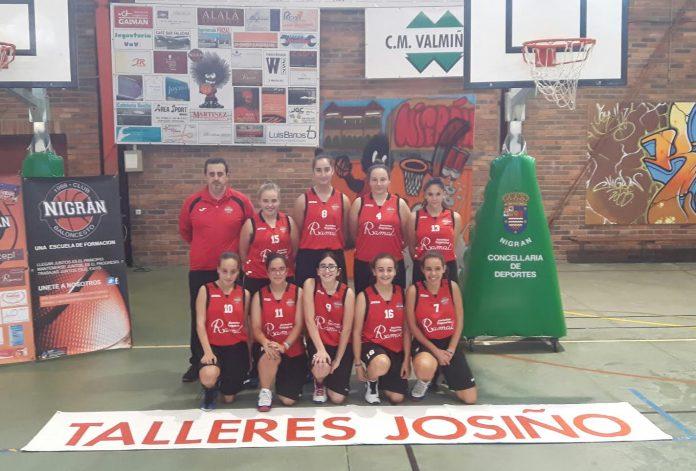 El Club Baloncesto Nigrán celebró en el pabellón de Panxón su fiesta de inicio de temporada