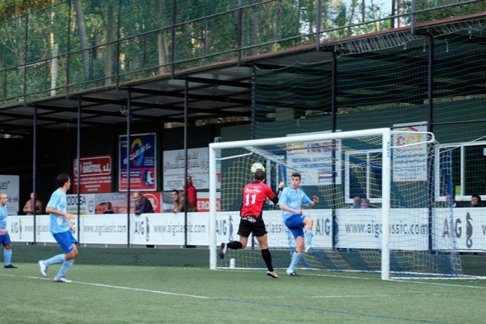 Gol de Álex Lomba y victoria importante por la mínima del Tomiño ante el colista