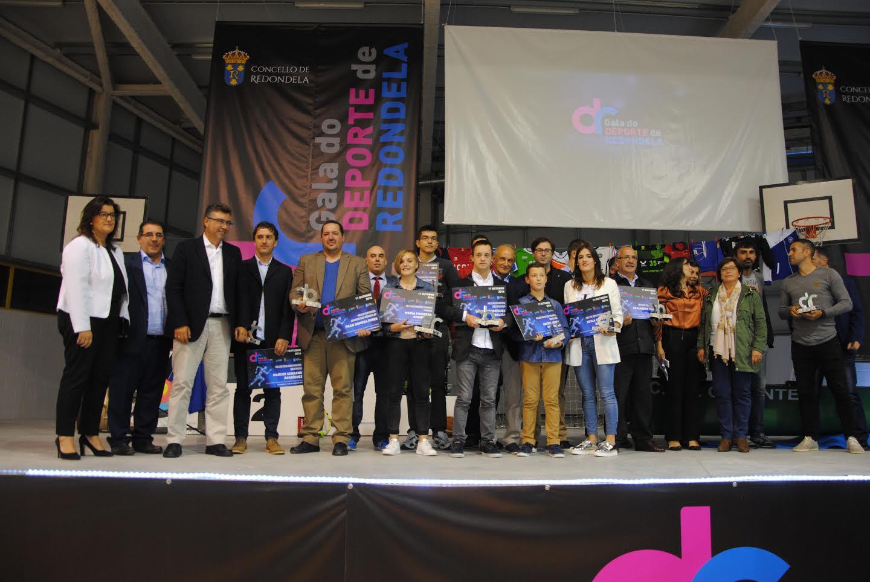 CEDIDA // Imagen de la I Gala del Deporte de Redondela.