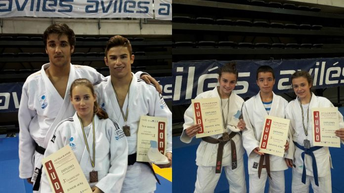 Buen balance del club Judo Baixo Miño en la Supercopa de España celebrada en Avilés