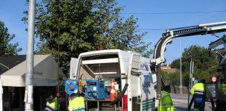 Nigrán repara los colectores de saneamiento