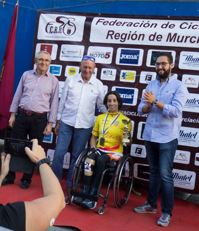 La baionesa Mila López logra la victoria en Murcia