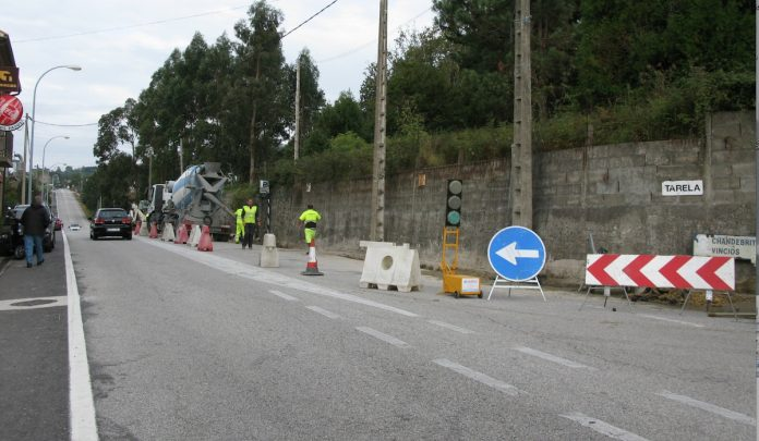 Rematan las obras de mejora de la seguridad viaria en A Rúa dos Pazos