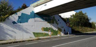 El concello de Tui organizó un concurso de decoración del puente