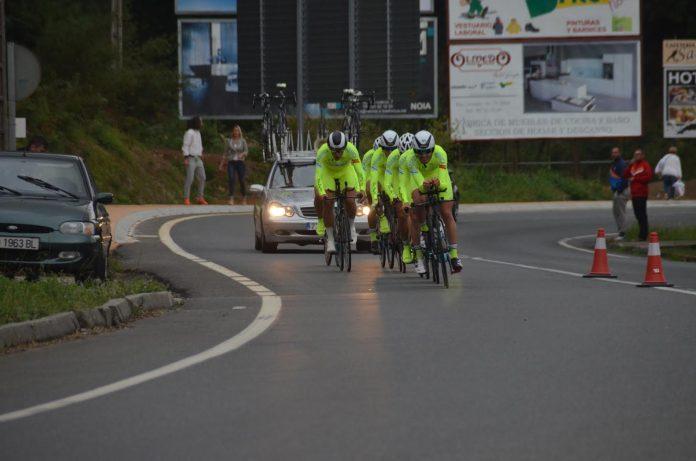El Club Ciclista Rías Baixas aspira a la triple corona en el Campeonato de Galicia CRE en Vigo