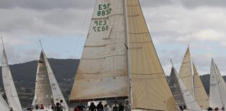 """""""Solventis"""", del Monte Real Club de Yates de Baiona, gana el Terras Gauda en Sada"""
