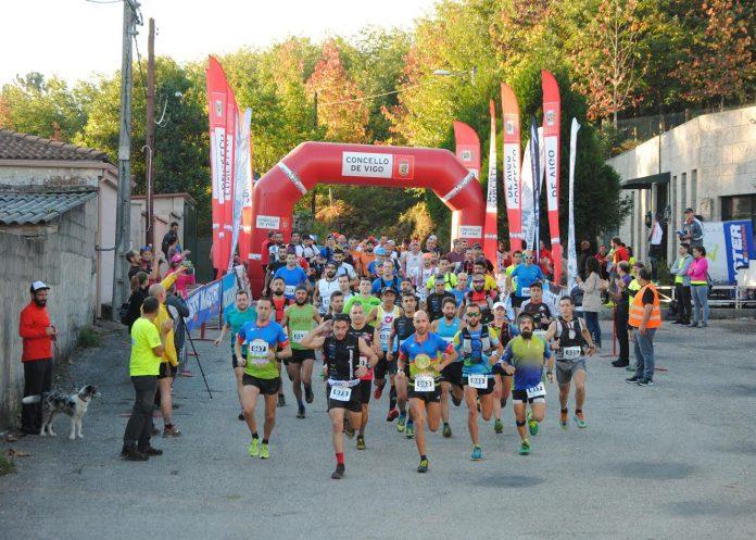 Samuel Saborido triunfa en el III Trail Montes de Vigo