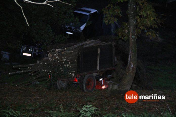 Un vecino de Peitieiros fallece al sufrir un accidente cuando conducía su tractor