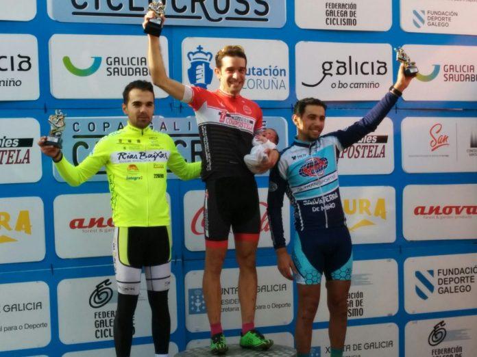 El baionés Adrián Valverde, segundo en Santiago
