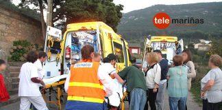 Un niño de seis años resulta herido tras chocar en bicicleta contra el coche de su madre en Viladesuso