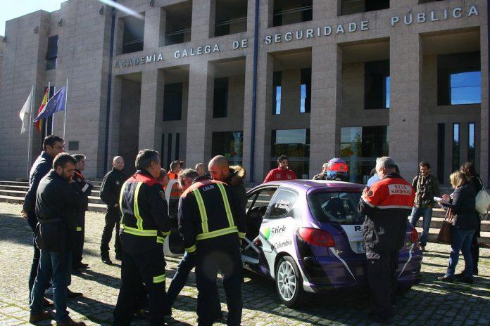 El curso fue impartido por los campeones de España de rally Diego y Sergio Vallejo Folgueria.