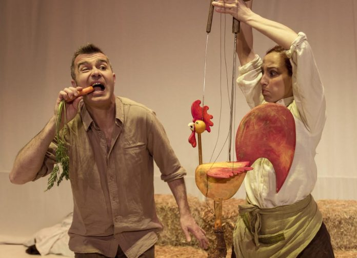 El Teatro Municipal de Tui acogerá este viernes la obra de teatro gestual 'Danza da Choiva'