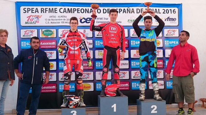 Gabriel Marcelli cierra una brillante temporada con una victoria en Almería