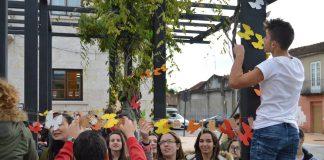 Tomiño se engalana con mariposas para conmemorar el Día Internacional contra la Violencia de Género