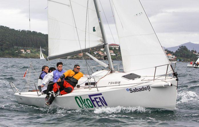 El Trofeo Banco Sabadell Clase J80 se decide este sábado en Baiona