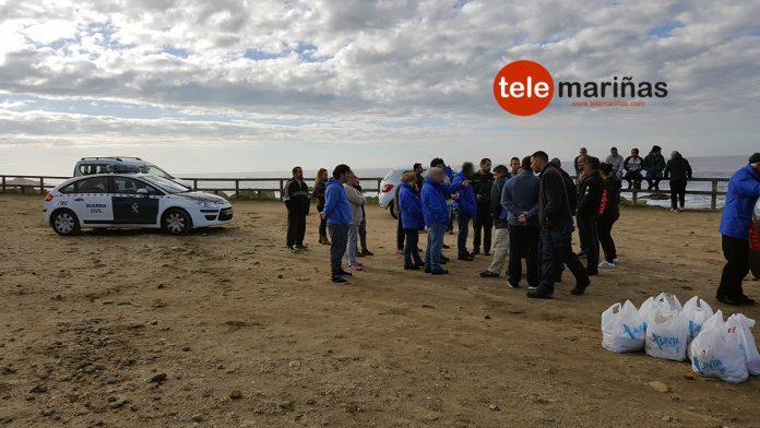 Gardacostas de Galicia requisa cerca de 50 kilos de percebe en Cabo Silleiro