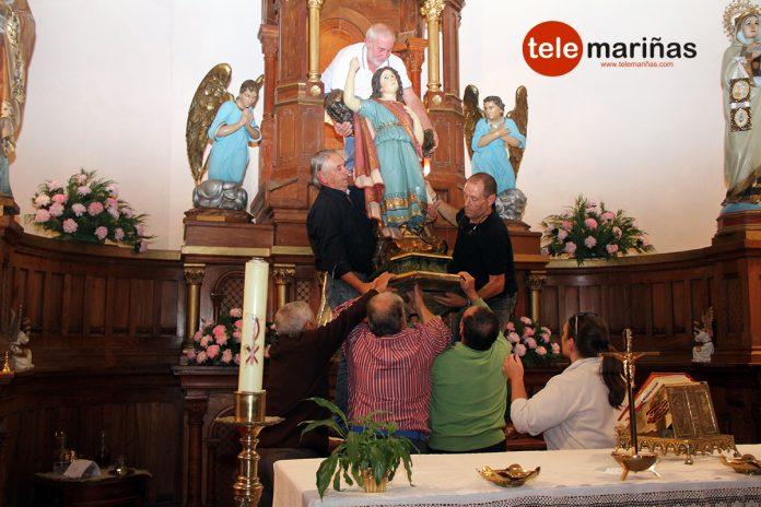 Santa Cristina combate las termitas en Sabarís