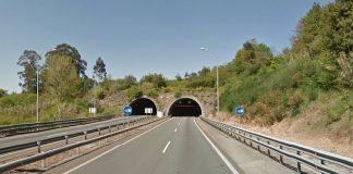 Cierra al tráfico en sentido Tui el túnel de Candeán por un simulacro
