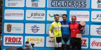 El baionés Adrián Valverde pisó podio en O Rosal y en Marín